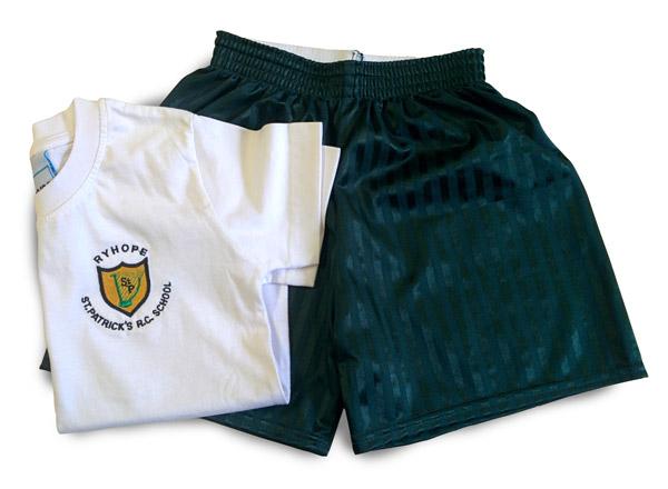 St Patrick's Boys PE Kit
