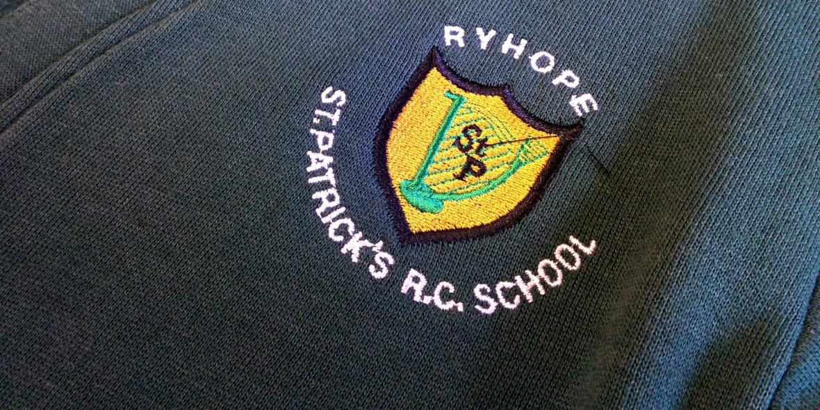 St Patrick's Badge Header