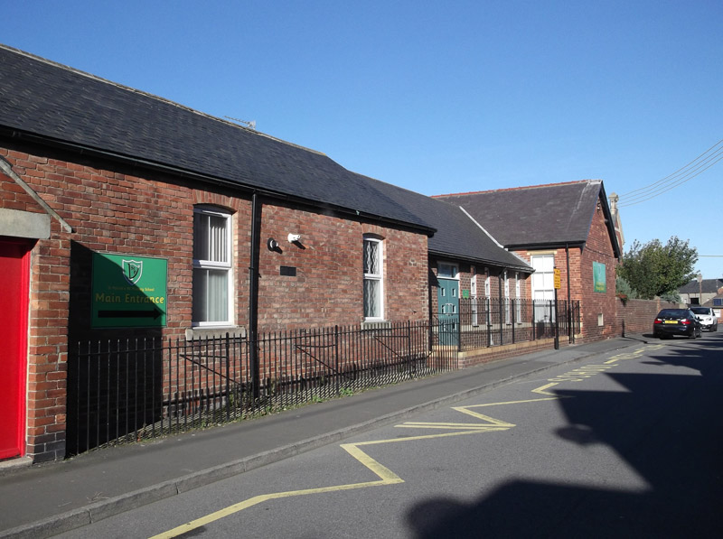 St Patricks R.C. Primary School Front View