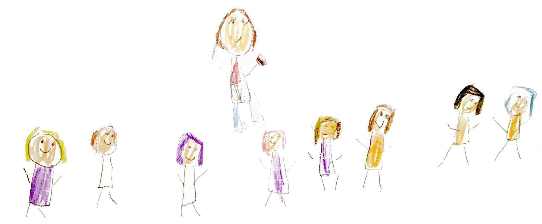 St Patricks Drawing