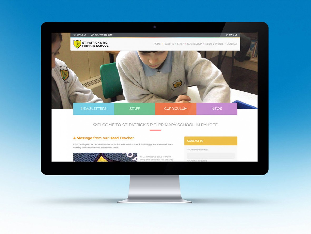 St Patrick's R.C. Primary School Website