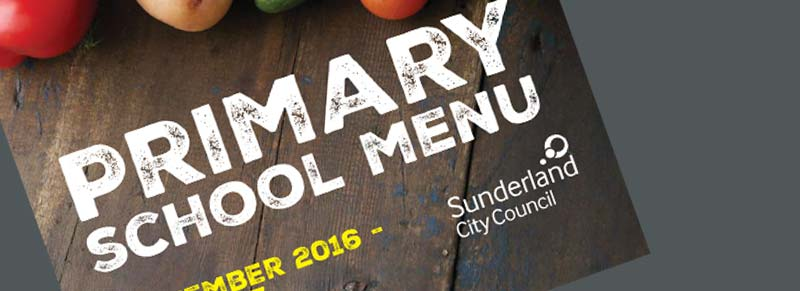 Primary School Menu 2016