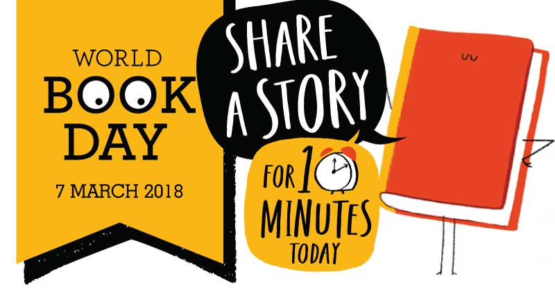 World Book Day 7th March 2018