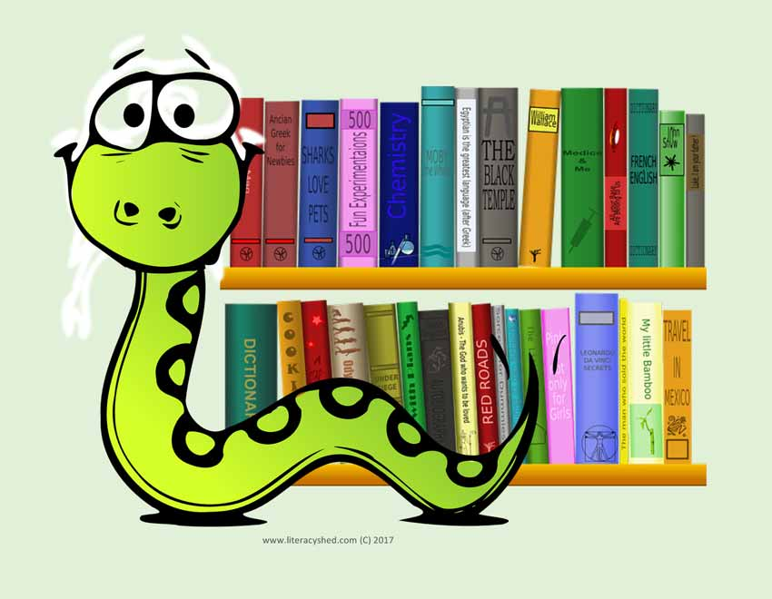 Image result for vipers reading""