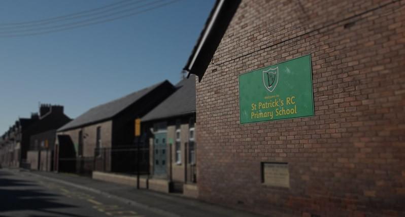 St Patricks School Front View
