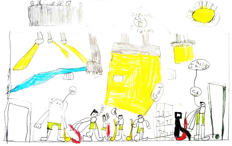 St Patricks RC Primary School Drawing