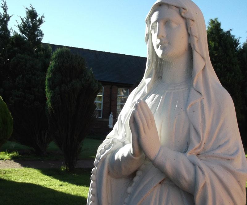 St Patricks RC Primary School Statue
