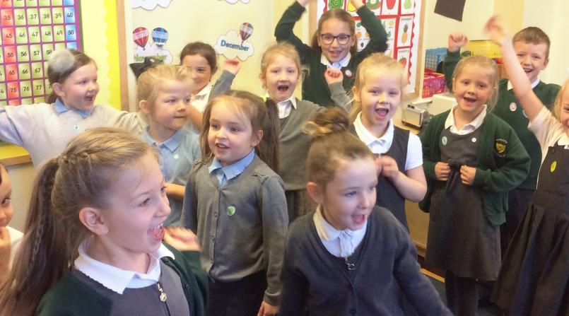 St Patricks Ryhope School Children